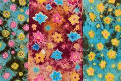 Крася ткань Стоковые Фотографии RF