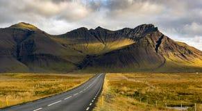 Кратер вулкана Исландии Стоковые Фотографии RF