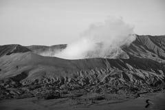 Кратер вулкана Стоковое Фото