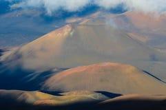 Кратер вулкана Стоковые Изображения