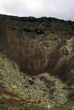 Кратер - корона Ла вулкана стоковое фото rf