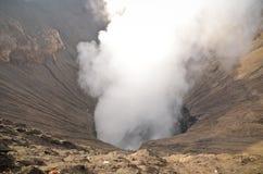 Кратер Gunung Bromo закоптелый стоковые изображения rf