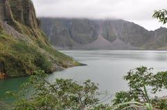 Кратер Pinatubo Стоковые Изображения RF