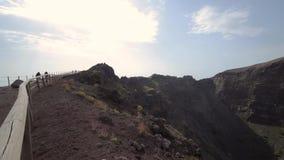 Кратер Vesuvius акции видеоматериалы