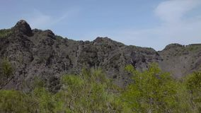 Кратер Vesuvius сток-видео