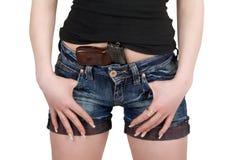 краткости пистолета Стоковое Изображение RF