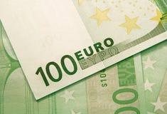 краткость дег поля евро глубины предпосылки Стоковая Фотография RF