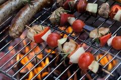 Кратко зажаренная в духовке еда Стоковое Изображение RF