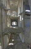 Крах внутри дворец Darul Амана, Афганистан стоковая фотография rf