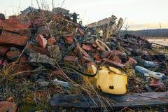Крах зданий стоковое изображение