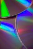 Края компакт-диска Стоковое фото RF