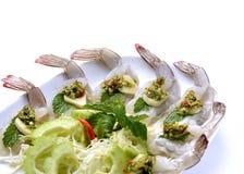 Креветка в соусе рыб Стоковые Фото