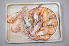 Креветка морепродуктов вкусная кипеть Стоковое Изображение RF