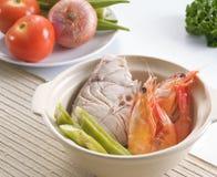 креветка рыб Стоковые Фотографии RF