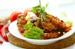 креветка chili великолепнейшая Стоковая Фотография