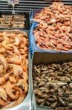 Креветки на счетчике Стоковая Фотография RF