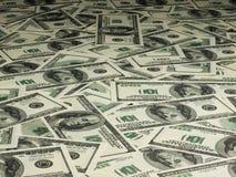Кредитки доллара США Стоковое Изображение RF