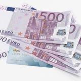 Кредитки кредитной карточки и евро Стоковое Изображение