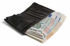кредитки много бумажник Стоковая Фотография RF