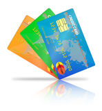 Кредитная карточка Иллюстрация вектора