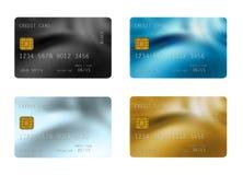 Кредитные карточки Стоковое Изображение RF