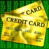 Кредитные карточки Стоковые Фото