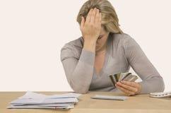 кредитный кризис Стоковое фото RF