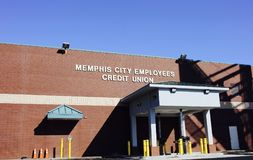 Кредитный союз работников города Мемфиса Стоковые Фото