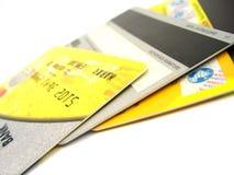 кредит карточек стоковая фотография