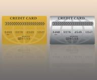 кредит карточек Стоковое фото RF
