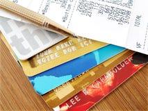 кредит карточек Стоковое Изображение