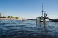 крейсер рассвета Стоковые Фото