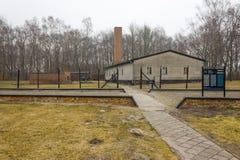 Крематорий в KL Stutthof, Польше стоковые изображения rf