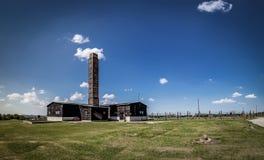 Крематорий в Majdanek Стоковая Фотография