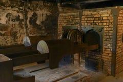 Крематорий Освенцима стоковое изображение rf