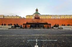 Кремль, красный квадрат Стоковые Изображения