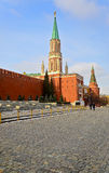 Кремль, красный квадрат Стоковая Фотография