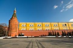 Кремль, красный квадрат Стоковое Фото
