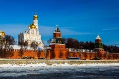 Кремль на зиме в Москве, России стоковое фото rf