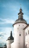 Кремль в Ростове над голубым небом. Россия. Стоковое Фото