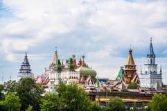 Кремль в Izmailovo Москве Стоковая Фотография