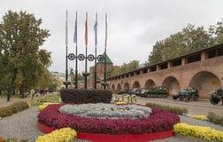 Кремль в Nizhny Novgorod, Российской Федерации стоковая фотография