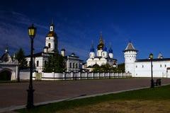 Кремль Tobolsk, Сибиря, России Стоковые Фото