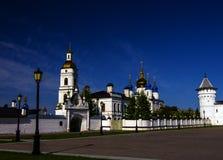 Кремль Tobolsk, Сибиря, России Стоковые Изображения