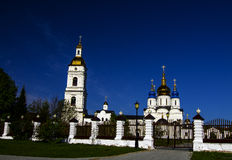 Кремль Tobolsk, Сибиря, России Стоковое Изображение
