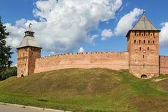 Кремль Veliky Новгорода Стоковые Фотографии RF