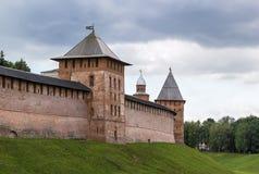 Кремль Veliky Новгорода Стоковая Фотография