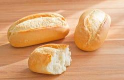 3 крена хлеба Стоковое фото RF