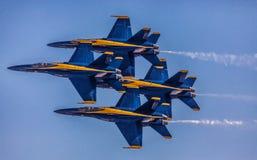 Кренить голубых ангелов Стоковая Фотография RF