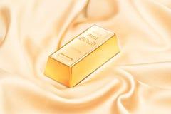 кренить золот в слитках золотистый слиток Стоковая Фотография